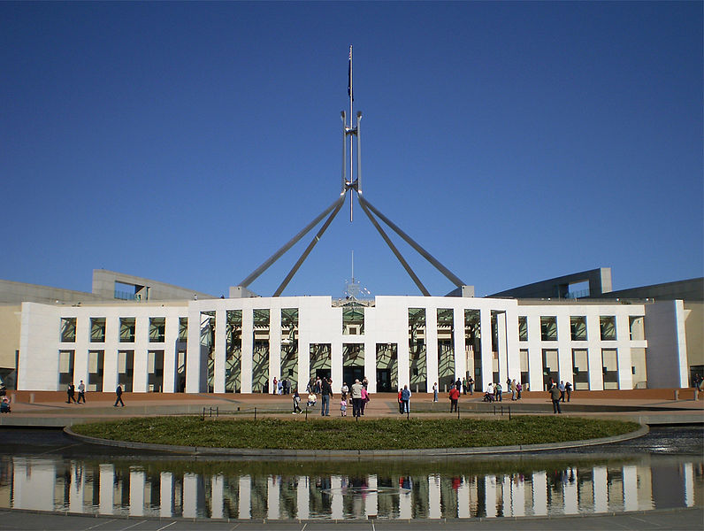 Australian Parliament Illustration